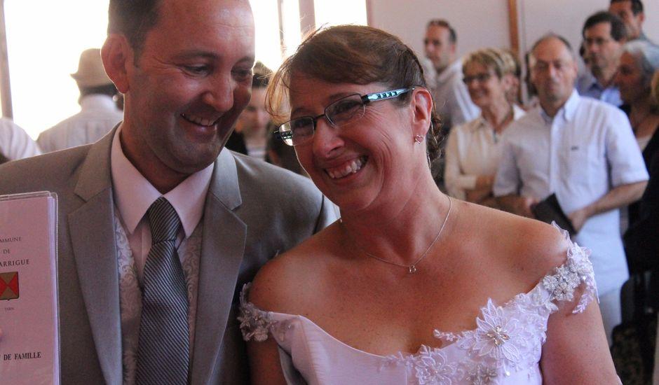 Le mariage de Laurent et Fabienne à Lagarrigue, Tarn