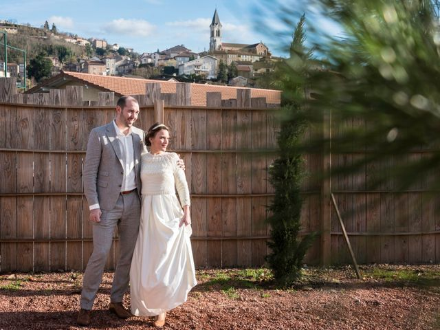 Le mariage de Denis et Aurélie à Thizy, Rhône 14