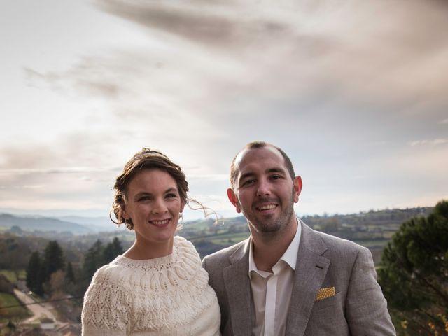 Le mariage de Denis et Aurélie à Thizy, Rhône 20