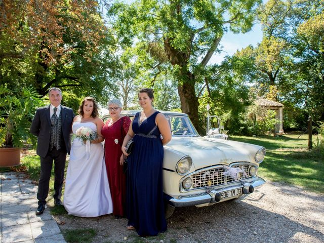 Le mariage de Raphael et Marion à Saint-Astier, Dordogne 16