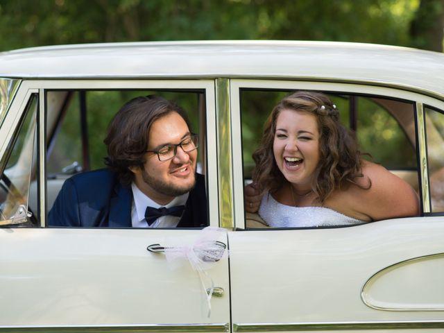 Le mariage de Raphael et Marion à Saint-Astier, Dordogne 35