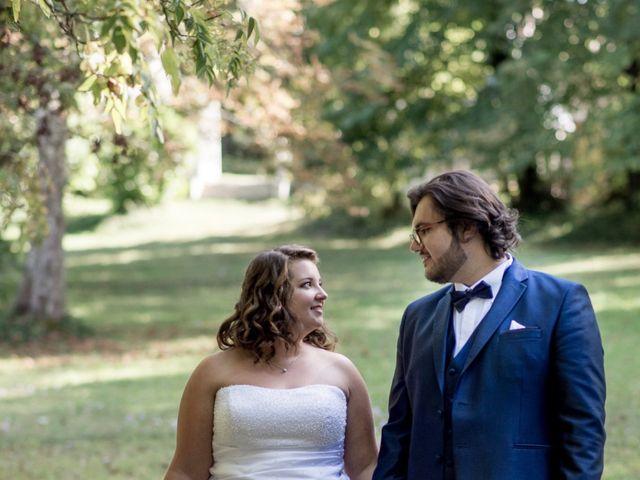 Le mariage de Raphael et Marion à Saint-Astier, Dordogne 45