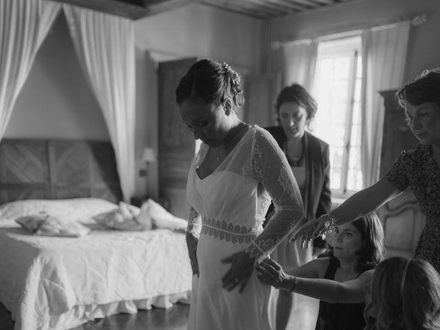 Le mariage de Alexandre et Emilie à Vonnas, Ain 45