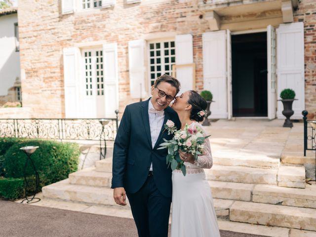 Le mariage de Alexandre et Emilie à Vonnas, Ain 73