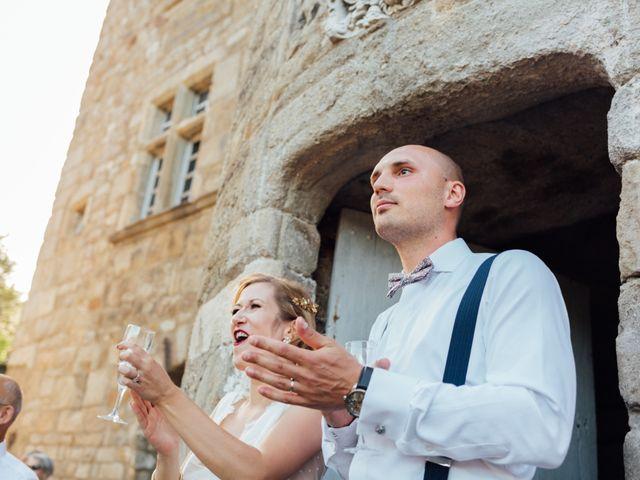 Le mariage de Laurent et Sophie à Jaujac, Ardèche 34