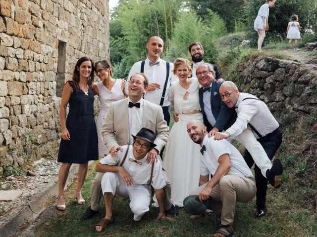 Le mariage de Laurent et Sophie à Jaujac, Ardèche 39