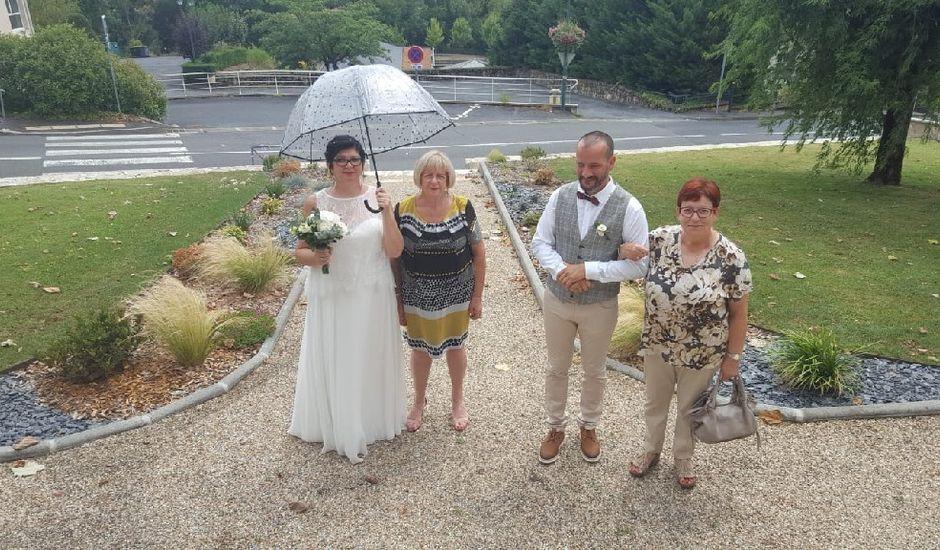 Le mariage de Christelle  et Sébastien  à Ussac, Corrèze