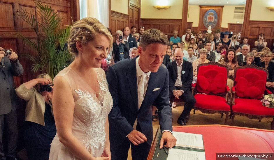 Le mariage de Damien et Frédérique à Nice, Alpes-Maritimes