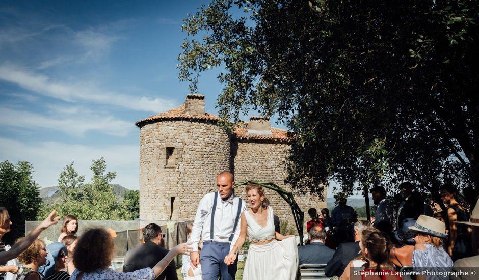 Le mariage de Laurent et Sophie à Jaujac, Ardèche