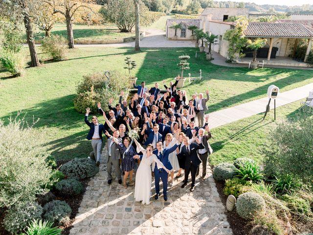 Le mariage de Sébastien et Marie-Sophie à Moulon, Gironde 36
