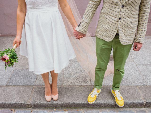 Le mariage de Amaury et Marina à Paris, Paris 40