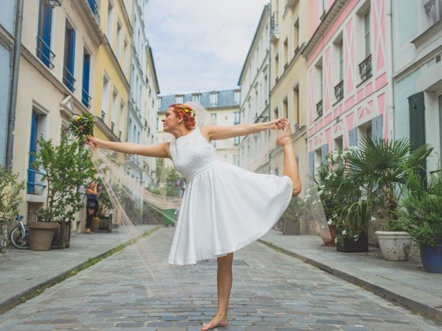 Le mariage de Amaury et Marina à Paris, Paris 53