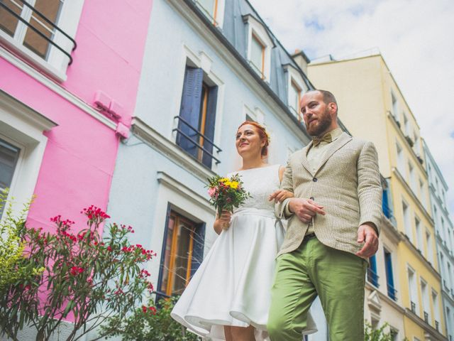 Le mariage de Amaury et Marina à Paris, Paris 55