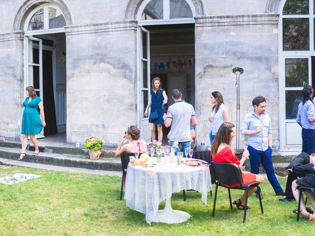 Le mariage de Amaury et Marina à Paris, Paris 75