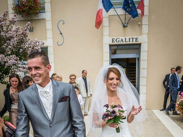 Le mariage de Alexandre et Morgane à Quinçay, Vienne 5