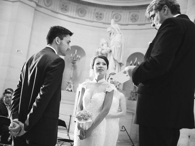 Le mariage de Alex et Cindy à Paris, Paris 12