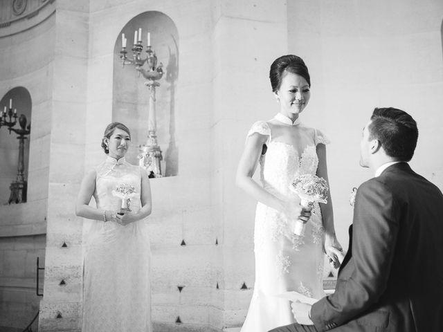 Le mariage de Alex et Cindy à Paris, Paris 13