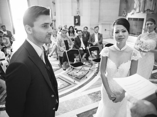 Le mariage de Alex et Cindy à Paris, Paris 15