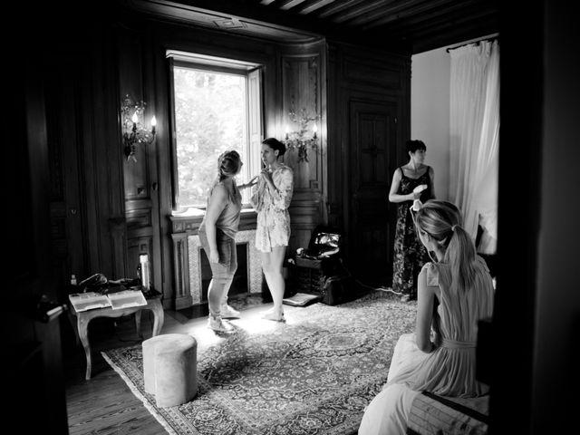 Le mariage de Bastien et Gaelle à Saint-Lager, Rhône 6