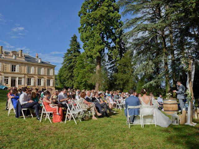Le mariage de Bastien et Gaelle à Saint-Lager, Rhône 19