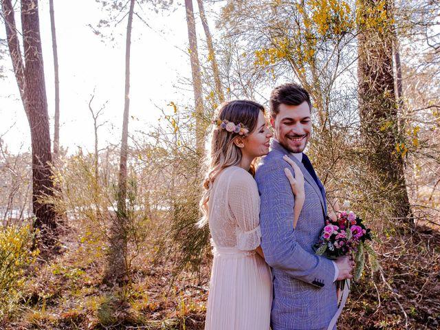 Le mariage de David et Anaelle à Arès, Gironde 14