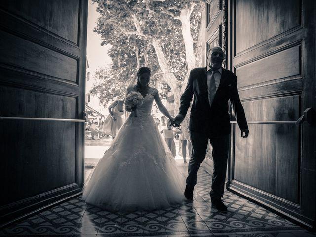 Le mariage de Christophe et Fanny à Solliès-Pont, Var 4