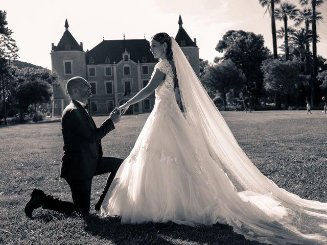 Le mariage de Christophe et Fanny à Solliès-Pont, Var 16