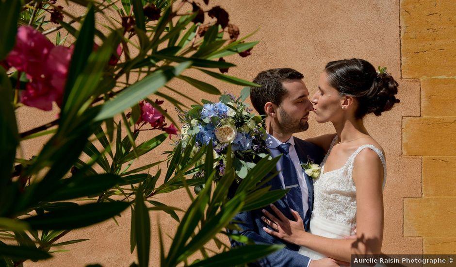 Le mariage de Bastien et Gaelle à Saint-Lager, Rhône