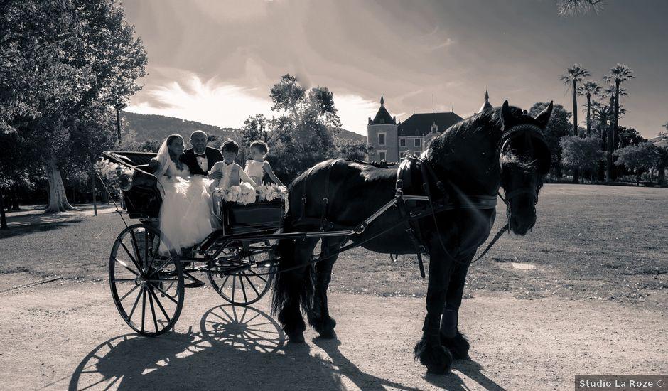 Le mariage de Christophe et Fanny à Solliès-Pont, Var