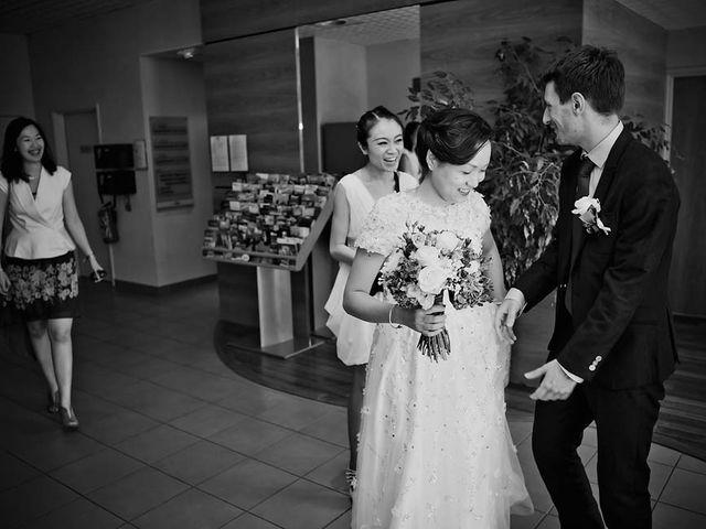 Le mariage de Lionel et Ning à Nîmes, Gard 14