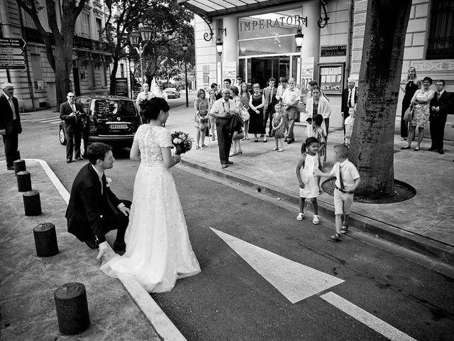 Le mariage de Lionel et Ning à Nîmes, Gard 23