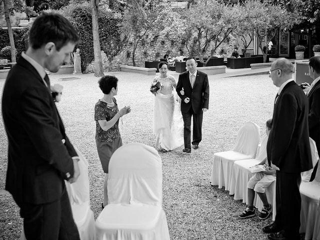 Le mariage de Lionel et Ning à Nîmes, Gard 30