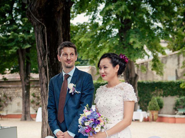 Le mariage de Lionel et Ning à Nîmes, Gard 31