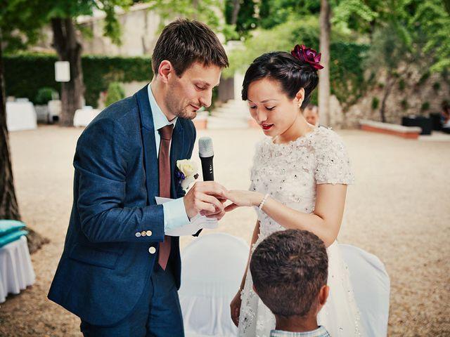 Le mariage de Lionel et Ning à Nîmes, Gard 34