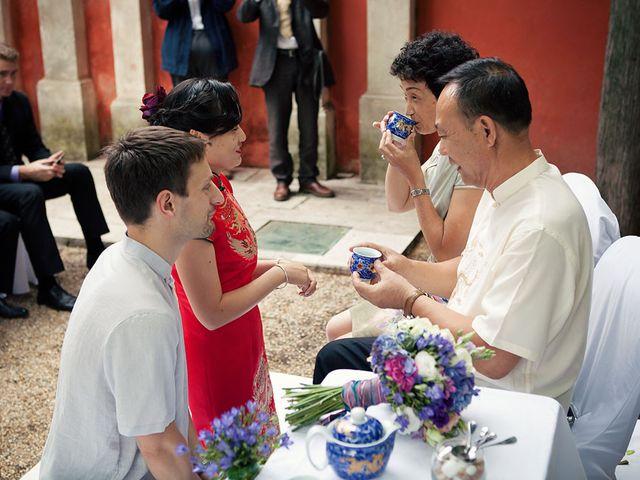 Le mariage de Lionel et Ning à Nîmes, Gard 40