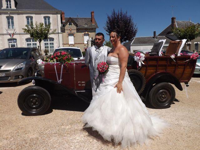 Le mariage de paulo et virginie à Pouillé, Loir-et-Cher 7