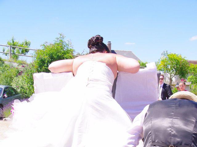 Le mariage de paulo et virginie à Pouillé, Loir-et-Cher 9