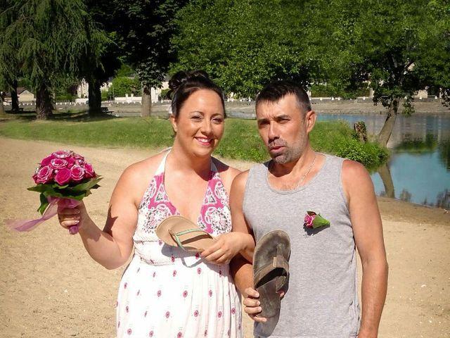 Le mariage de paulo et virginie à Pouillé, Loir-et-Cher 33