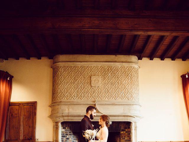 Le mariage de Jerome et Amandine à Amondans, Doubs 20