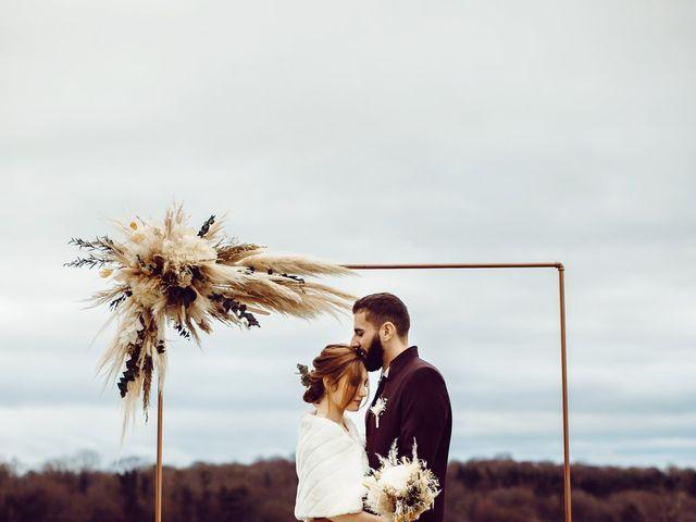 Le mariage de Jerome et Amandine à Amondans, Doubs 27