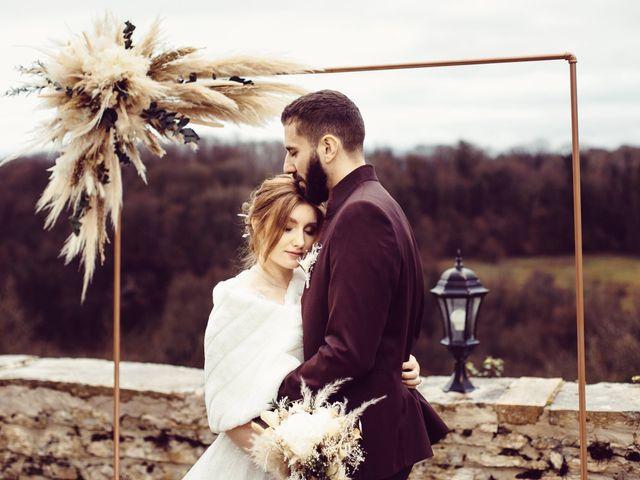 Le mariage de Jerome et Amandine à Amondans, Doubs 28