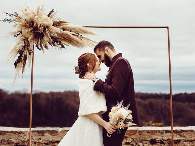 Le mariage de Jerome et Amandine à Amondans, Doubs 29