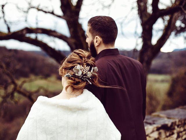 Le mariage de Jerome et Amandine à Amondans, Doubs 33