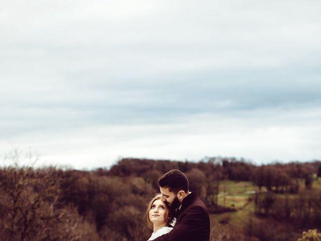 Le mariage de Jerome et Amandine à Amondans, Doubs 35