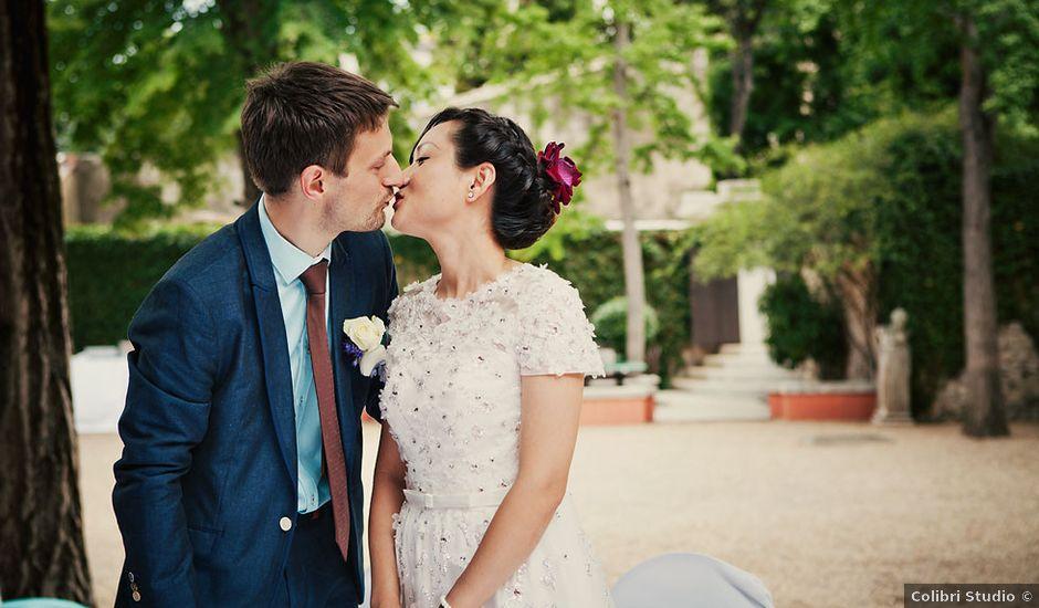 Le mariage de Lionel et Ning à Nîmes, Gard