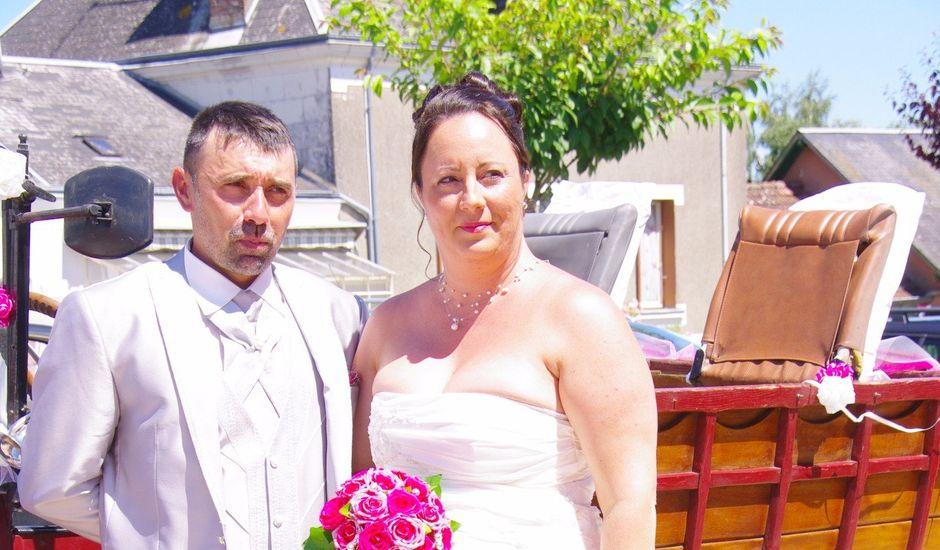 Le mariage de paulo et virginie à Pouillé, Loir-et-Cher