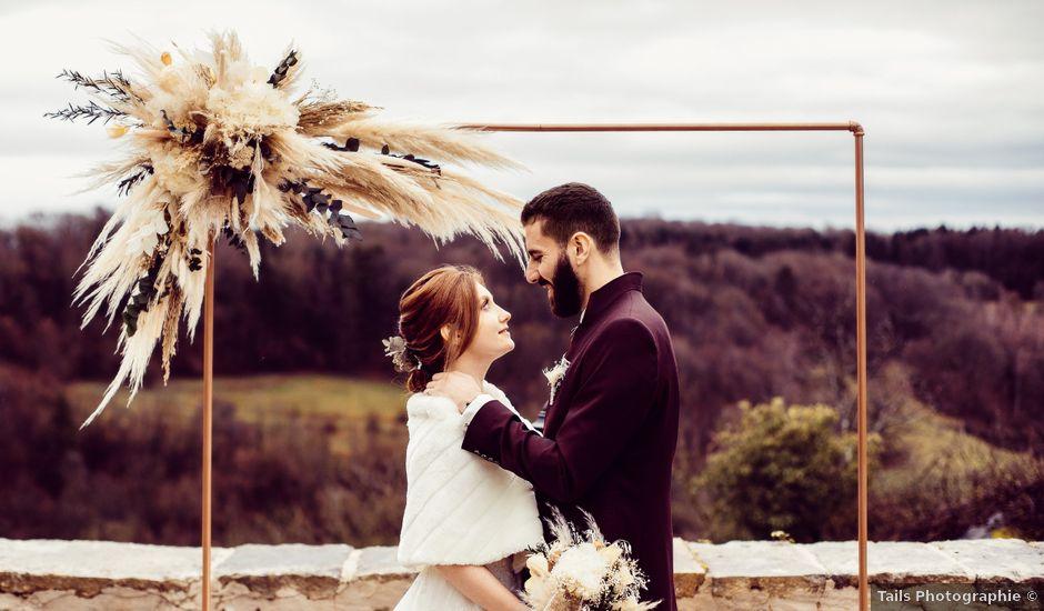 Le mariage de Jerome et Amandine à Amondans, Doubs