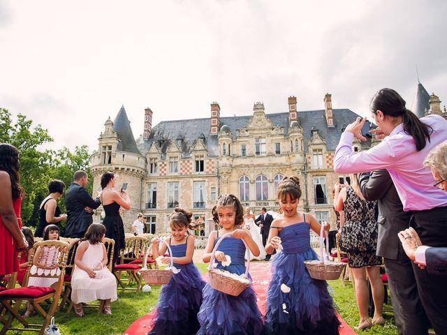 Le mariage de Houcine et Fabienne à Paris, Paris 8