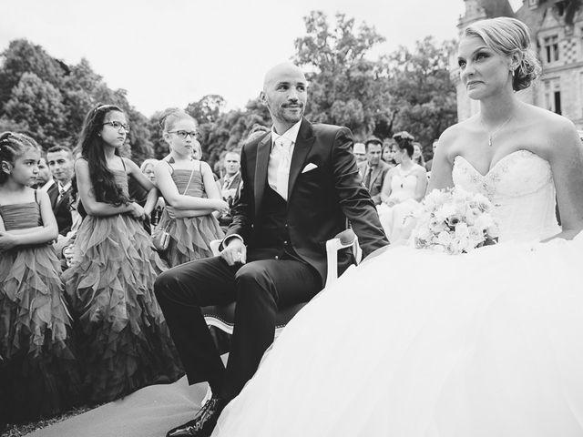 Le mariage de Houcine et Fabienne à Paris, Paris 15