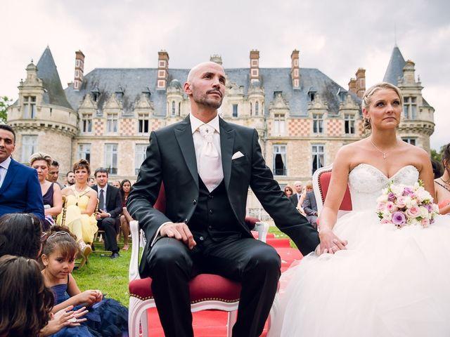 Le mariage de Houcine et Fabienne à Paris, Paris 20